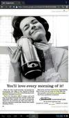 1962 ad for the exact same model of Sunbeam percolator.