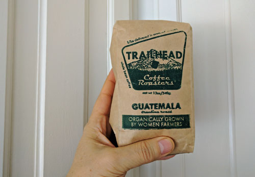 Guatemala coffee from Trailhead Coffee Roasters