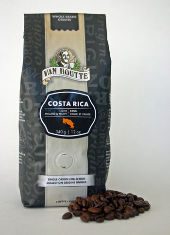 Van Houtte Costa Rica coffee.