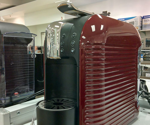 The Verismo Starbucks coffee makers, one cup at a time.
