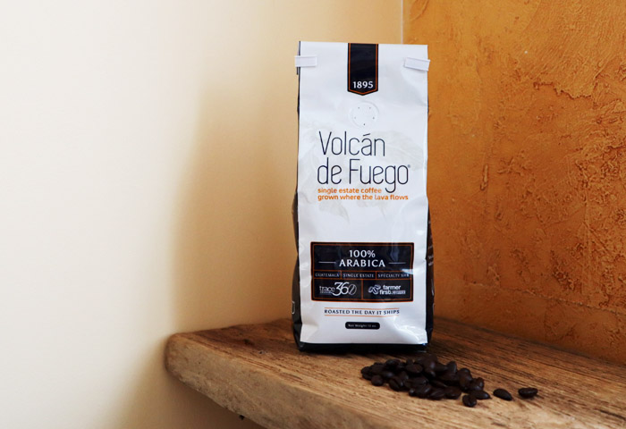Volcan de Fuego coffee