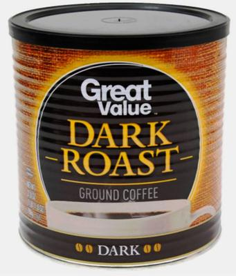 Wal-Mart's Great Value Dark Roast