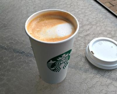 Flat White coffee from Starbucks