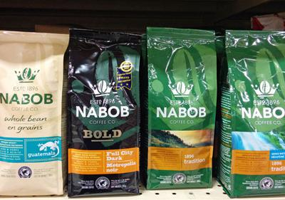 Nabob coffee. Pretty good coffee for a reasonable price.