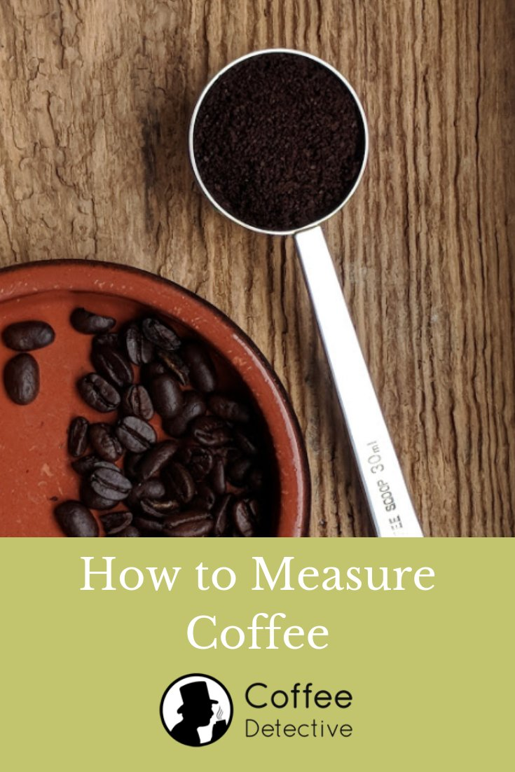 How to measure coffee