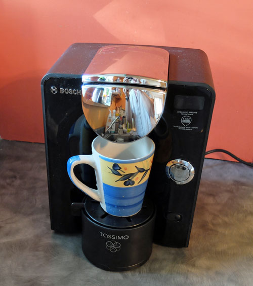 Our review of the Tassimo T55 Single Cup Home Brewing System.
