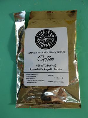 Hotel room coffee in Jamaica