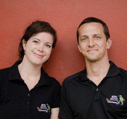Hannah  and Brandon Weidman.