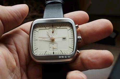 Silver Brew Special Blend watch