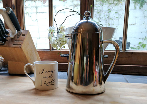 I can and I will after a cup of French press coffee.