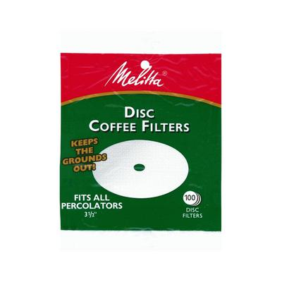 Melitta coffee filter discs for coffee percolators.