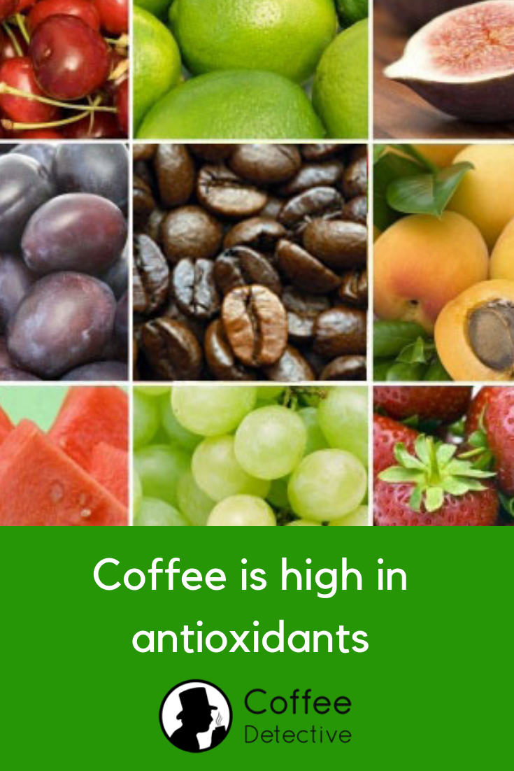 Coffee is the number one source of antioxidants in a typical American's diet