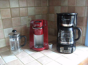 Rating different coffee makers