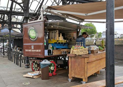 Coffee shop on wheels.