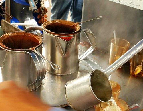 Sock coffee maker