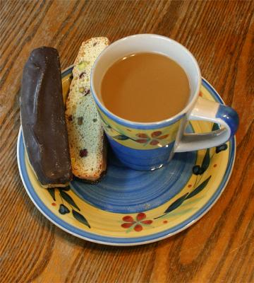 David's Chocolate Biscotti