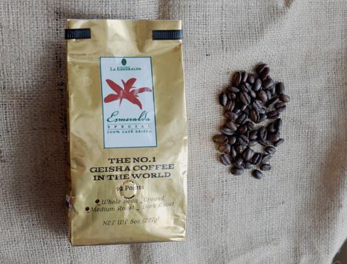Esmeralda Special Geisha coffee