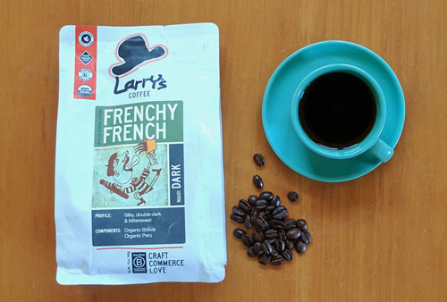 Frenchy French coffee beans blend