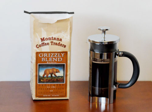 Grizzly Blend coffee