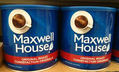 Has Maxwell House Coffee Gone Bad