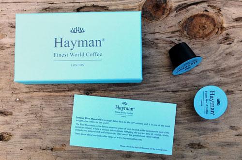 Hayman Coffee capsules