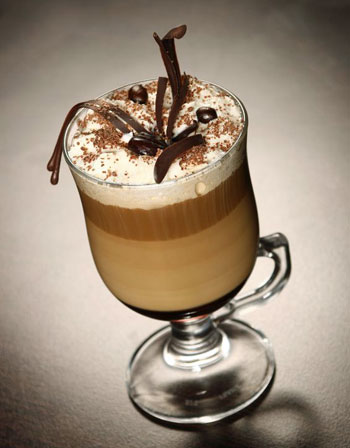 irish coffee drink