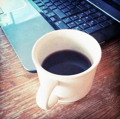 Black coffee at work... Scary?
