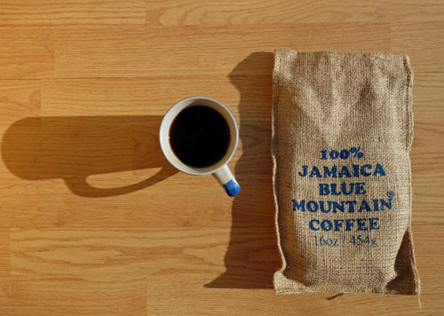 Ridgelyne Jamaica Blue Mountain coffee.