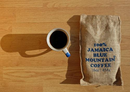 Ridgelyne Jamaica Blue Mountain coffee.