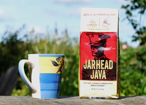 Jarhead Java Colombian coffee.