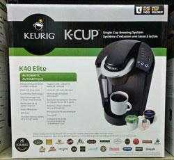 Keurig B40 Elite in box.
