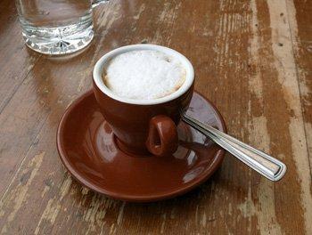 Cup of Espresso Macchiato.