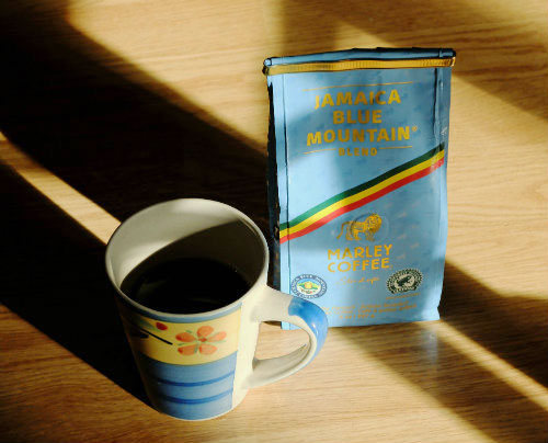Marley Coffee Jamaica Blue Mountain Blend.