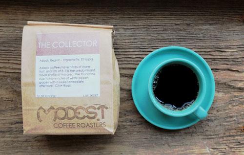 Yirgacheffe coffee from Modest Coffee Roasters