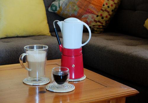 Aerolatte Cafe Porcellana Stove Top Espresso maker
