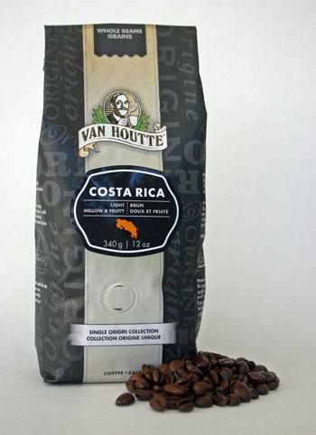Van Houtte Costa Rica coffee.