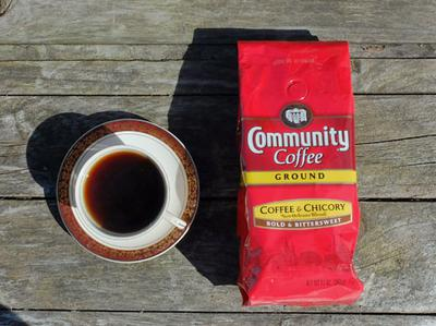 Community Coffee blend with chicory