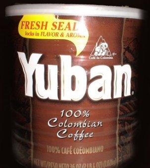 Can of Yuban coffee